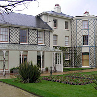 Charles Darwin's House, Down House, Downe Kent. 2006. Exterior Decorative Schemes Researched by Crick-Smith.  Client: English Heritage. Image Courtesy of English Heritage