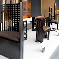 Completed December 2017.  An internationally significant collection of original Charles Rennie Mackintosh furniture for The Willow Tea Rooms Trust and the Glasgow School of Art