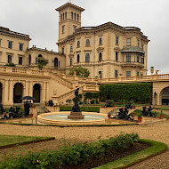 Osborne House, Lower Terrace, Andromeda Fountain. Client : English Heritage. Image Copyright Crick-Smith