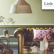 TO BE LAUNCHED AT DECOREX 2018, 16th - 18th SEPTEMBER. We are very proud to have been appointed by The Little Greene Paint Co., to undertake the research of a palette of colours with historic provenances for the paint range recently produced as a collaboration between Little Greene and the National Trust